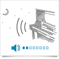 Play piano at any volume
