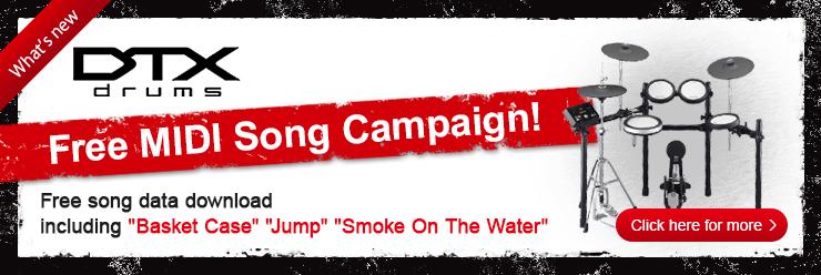 Free MIDI Song Campaign!