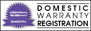 Domestic Warranty Registration