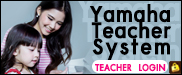 Yamaha Teacher System : Teacher Login