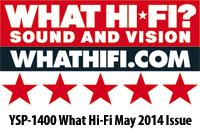 YSP-1400 WhatHiFi 5 Stars
