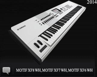 2014 MOTIF XF8 WH, MOTIF XF7 WH, MOTIF XF6 WH