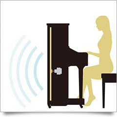 Není potřeba žádné externí ozvučení