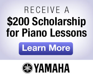 Receive $200 Scholarship for Piano Lessons
