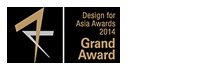 Design for Asia 2014(organized by Hong Kong Design Center)
