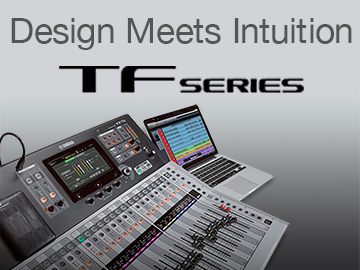 TF Series Digital Mixing Console