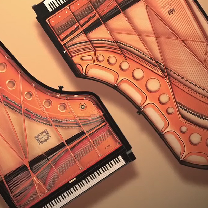 The sound of some of the finest concert grand pianos in the world
