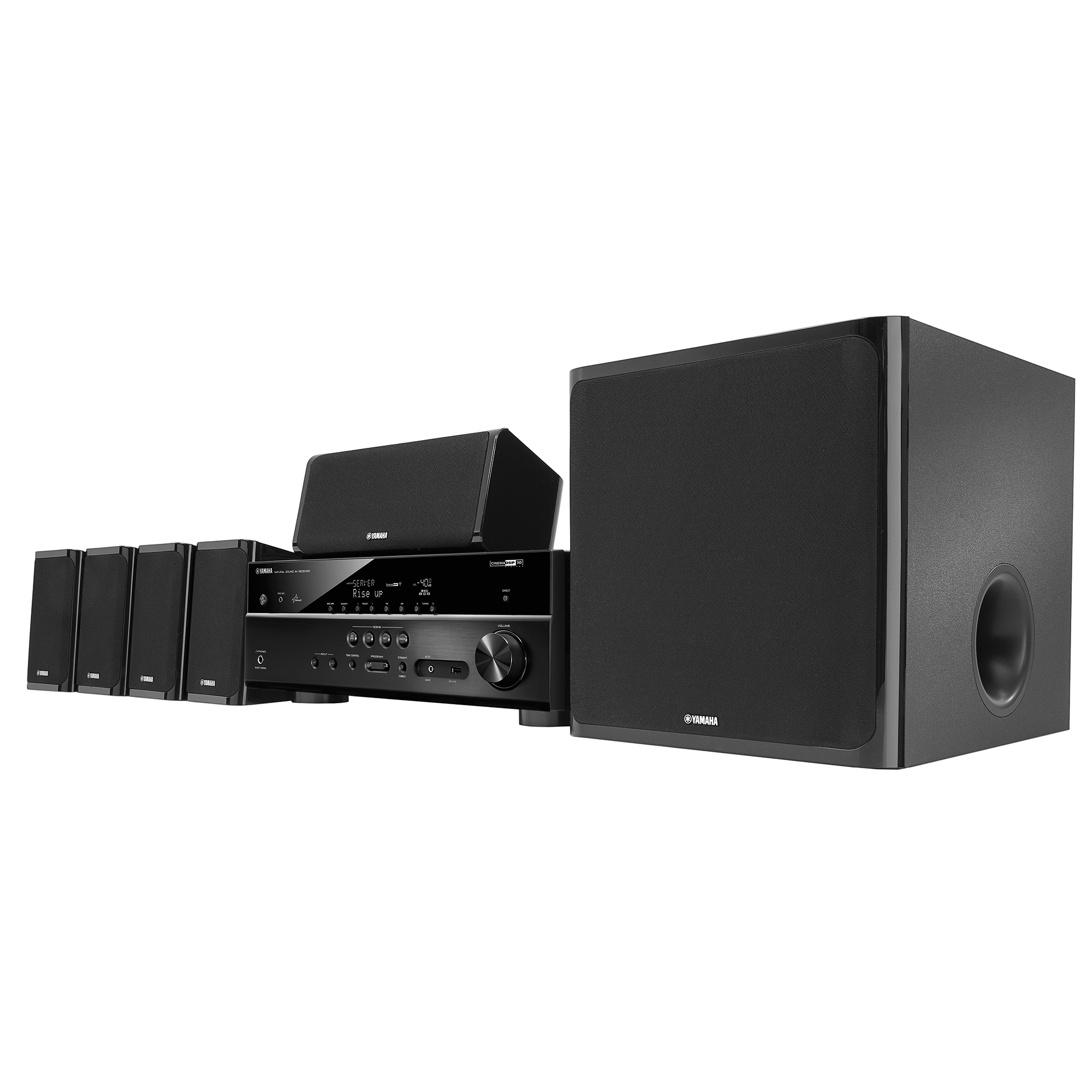 Yamaha YHT-5920UBL 5.1 Home Theater System