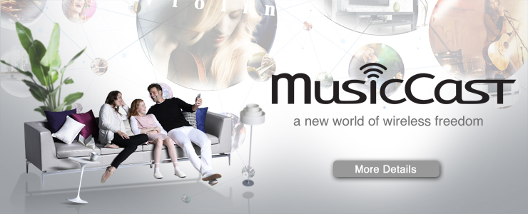 MusicCast - A new world of wireless freedom