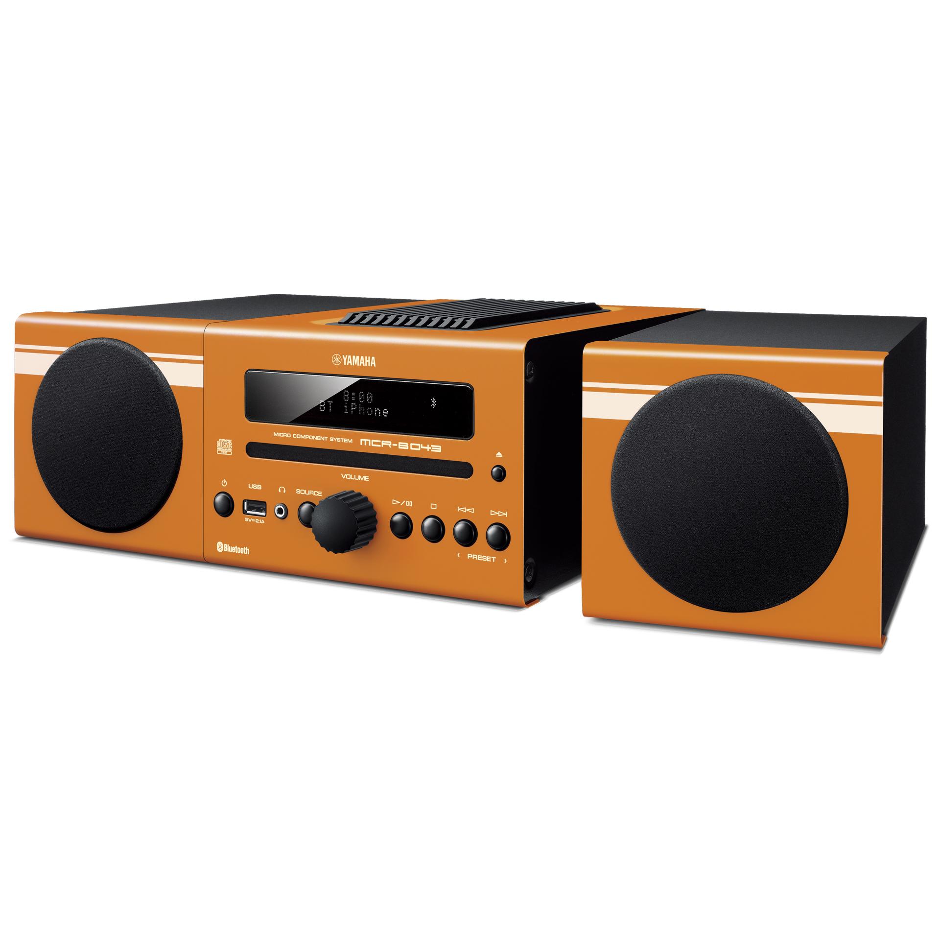 写真を拡大する - MCR-B043 - システムコンポ - ヤマハ株式会社 Yamaha Audio