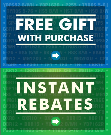Yamaha's Instant Rebates and Free Gifts with purchase Promotion