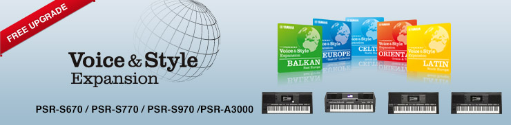 Free Upgrade for Yamaha PSR-S Series Keyboards!