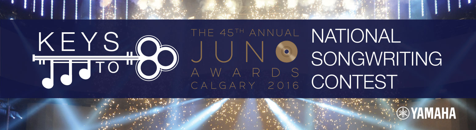 Keys to the Junos Songwriting Competition