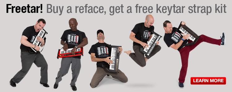 Keytar Promo