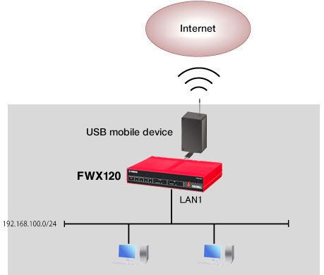 Using mobile Internet features