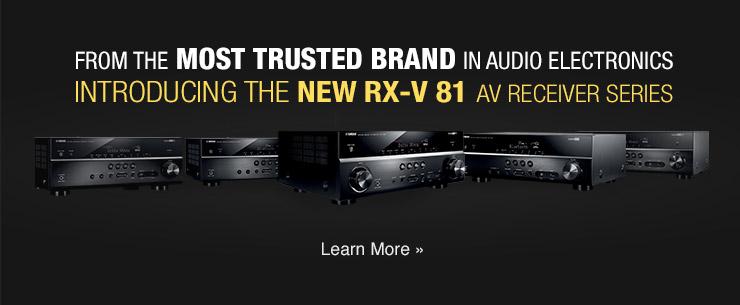 RX-V81 Banner