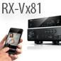 Avec l'arrivée de la Série RX-Vx81, l'expérience Home Cinema atteint son apogée.