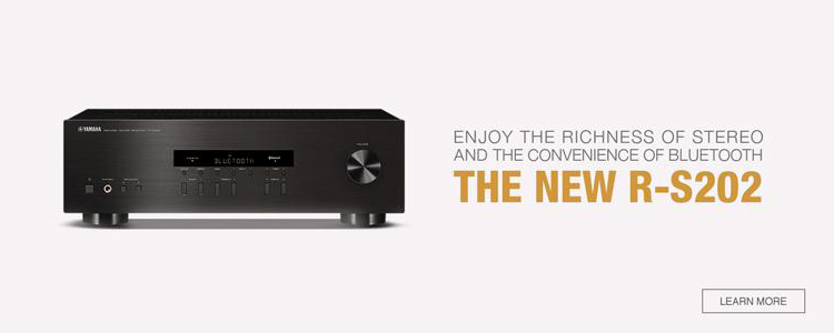 R-S202 Natural Sound Stereo Receiver