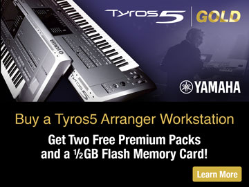 Tyros5 Expansion Promo