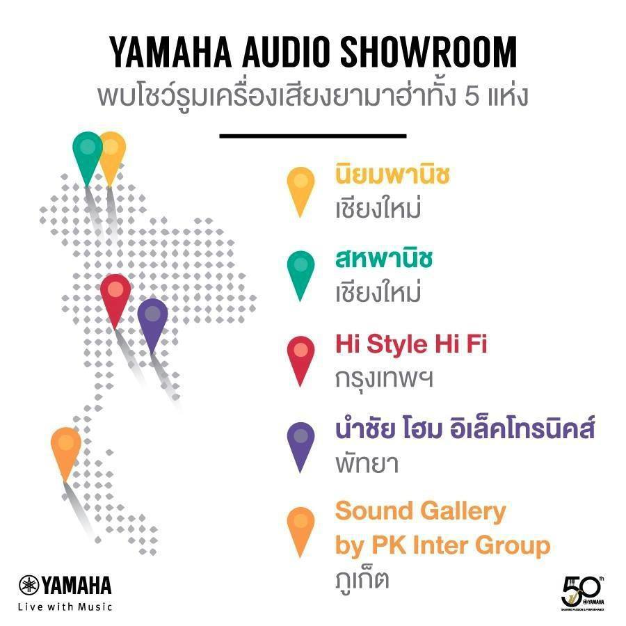 Yamaha Audio Showroom