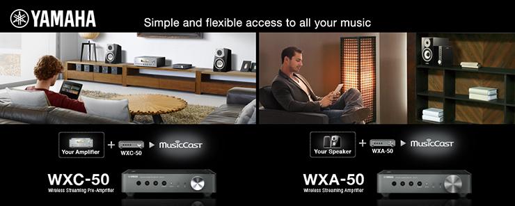 Wireless Streaming Amplifiers