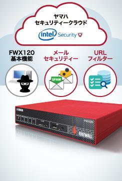 『FWX120』1台でより統合的なセキュリティー環境を実現 YSL-MC120