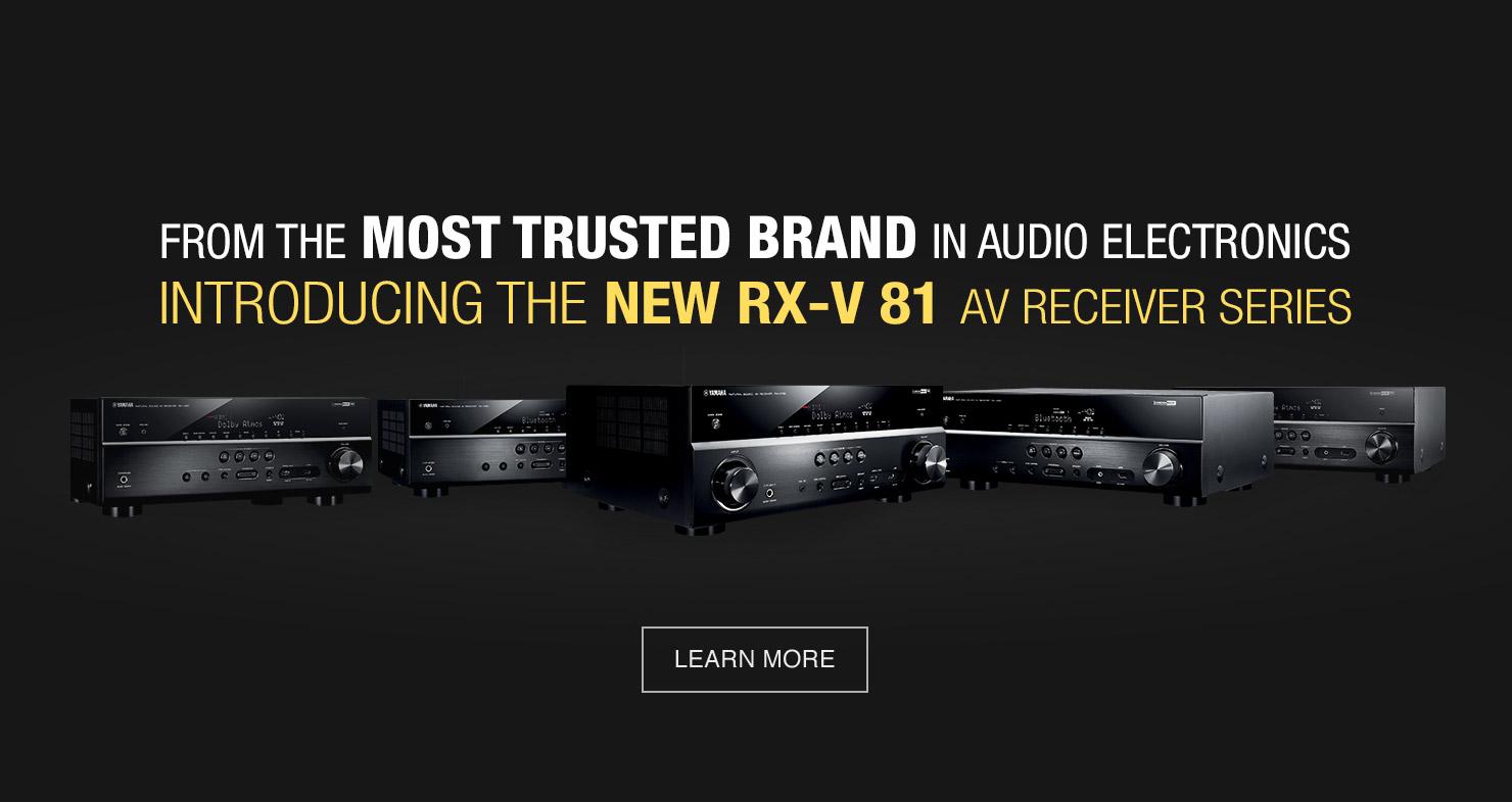 RX-V81 Series Banner