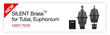 SILENT Brass™ for Tuba, Euphonium Learn more