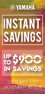 Instant Savings 2016