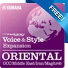 PSR-A2000 Oriental Pack