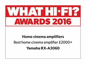 What HiFi Awards 2016 for RX-A3060