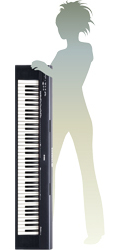 np 30 portable grand portable keyboards pianos keyboards musical instruments. Black Bedroom Furniture Sets. Home Design Ideas