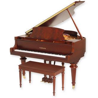 Gc1g g series grand pianos pianos keyboards for Yamaha mini grand piano price