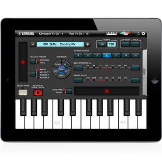 keyboard arp drum pad apps products yamaha united states. Black Bedroom Furniture Sets. Home Design Ideas