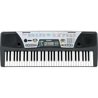 Psr 175 portable keyboards portable keyboards pianos for Yamaha learning keyboard