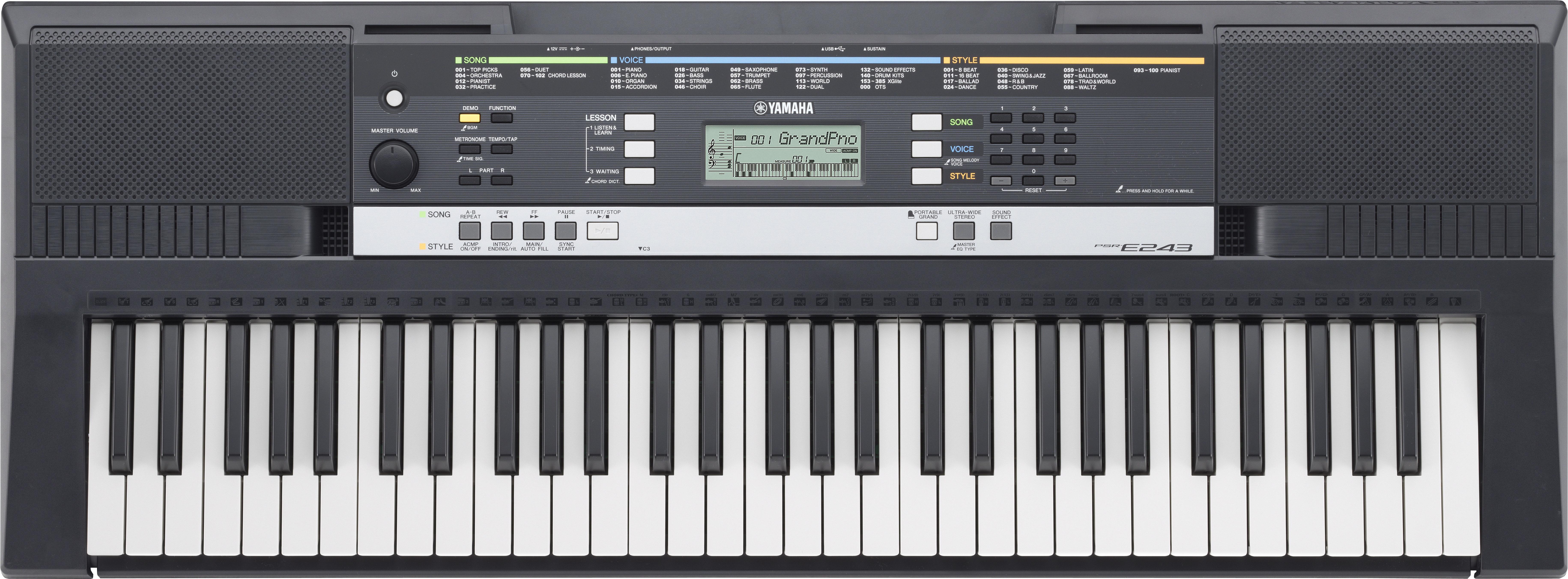 Yamaha PSR-E243