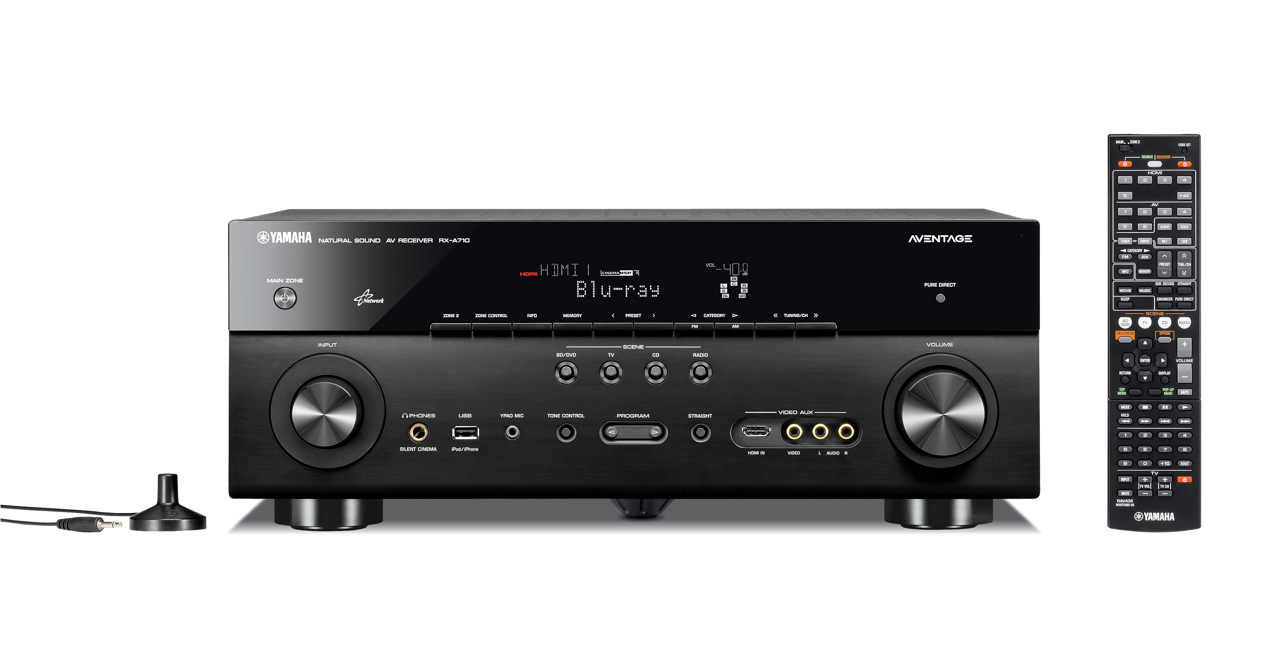 Rx A710 Aventage Audio Amp Visual Products Yamaha
