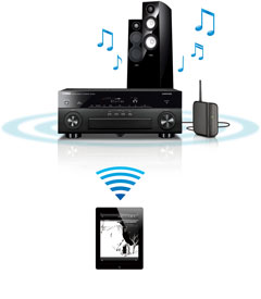 Play Streaming Music From Ipad To Yamaha Receiver
