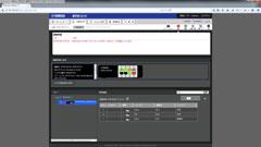 RTX1210のLANマップ画面で、SWX2100の状態を確認できます。