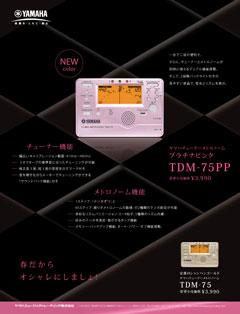 TDM-75 新機能