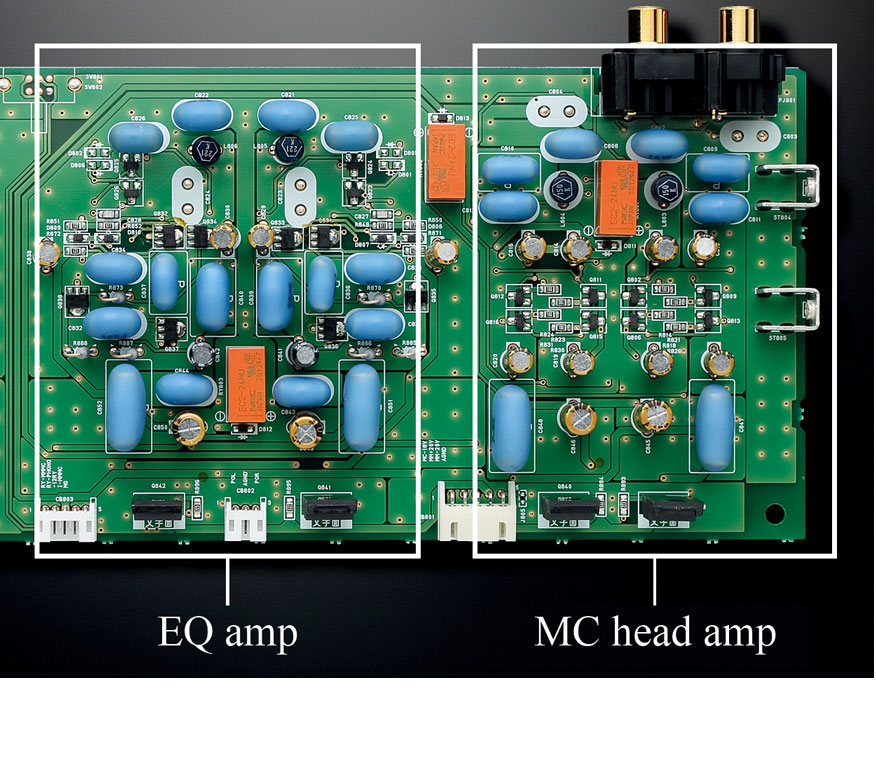 Discretely Configured Phono Amplifier