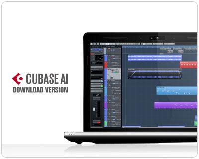 Программное обеспечение Cubase AI для создания музыки