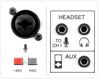 Yamaha USB Аудиоинтерфейс AG03: подключение источника звука