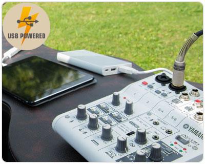 Yamaha Yamaha AG06 USB Mixer Interface - Great for Live Streaming