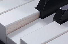 Die Holztastatur