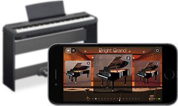 Digital piano controller apps yamaha brasil for Yamaha digital piano controller