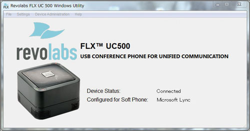 FLX UC 500 Windows Utility