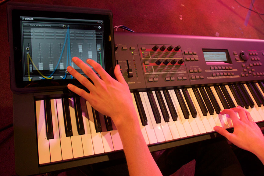 Dedicated applications from Yamaha offer new ways to play instruments.