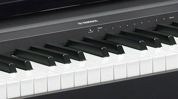 P 45 contemporary digital pianos digital pianos for Yamaha p45b keyboard