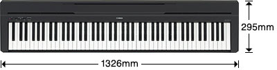 yamaha p 45 digital piano piano city sydney. Black Bedroom Furniture Sets. Home Design Ideas
